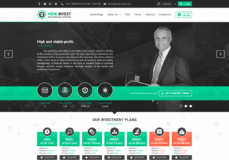 Screenshot of view-invest.com