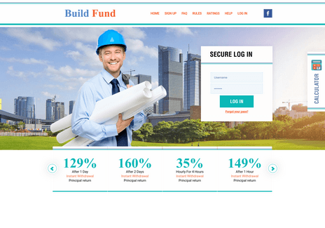 Screenshot of build-fund.pw