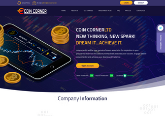 Screenshot of coincorner.biz