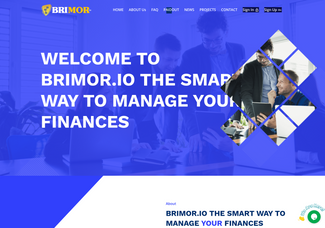 Screenshot of brimor.io
