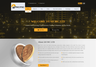 Screenshot of aicmc.net