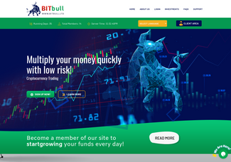 Screenshot of bitbull.ltd