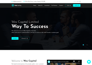 Screenshot of wexcapital.net