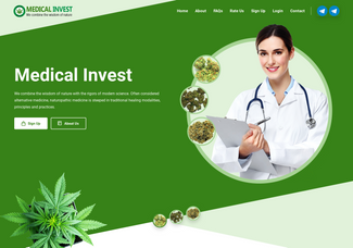 Screenshot of medicalinvest.cc