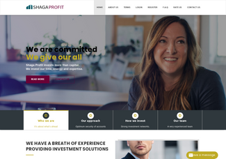 Screenshot of shagaprofit.com
