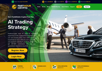 Screenshot of fasthourcrypto.com